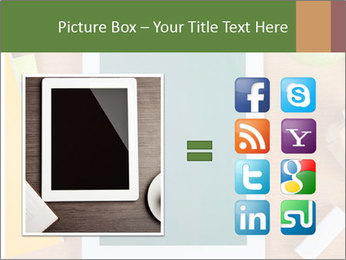 School Tablet PowerPoint Template - Slide 21