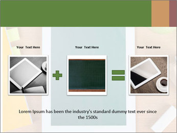 School Tablet PowerPoint Template - Slide 22