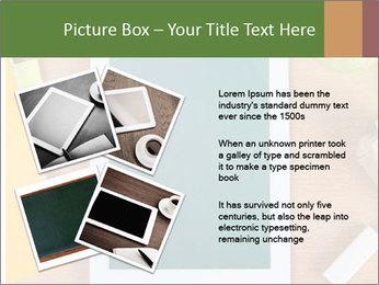 School Tablet PowerPoint Template - Slide 23