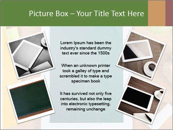 School Tablet PowerPoint Template - Slide 24