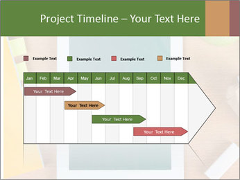 School Tablet PowerPoint Template - Slide 25