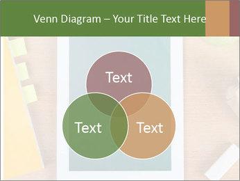 School Tablet PowerPoint Template - Slide 33