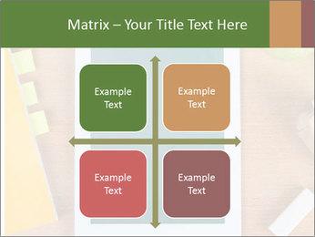 School Tablet PowerPoint Template - Slide 37