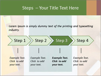 School Tablet PowerPoint Template - Slide 4