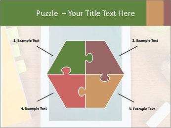 School Tablet PowerPoint Template - Slide 40