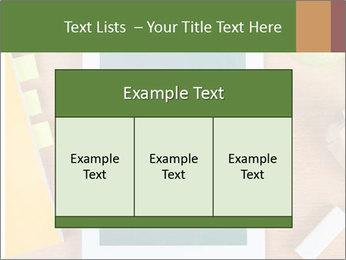 School Tablet PowerPoint Template - Slide 59