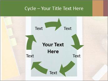School Tablet PowerPoint Template - Slide 62