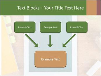 School Tablet PowerPoint Template - Slide 70