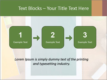 School Tablet PowerPoint Template - Slide 71