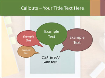 School Tablet PowerPoint Template - Slide 73