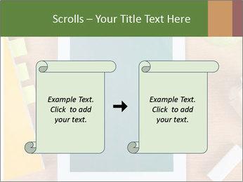 School Tablet PowerPoint Template - Slide 74