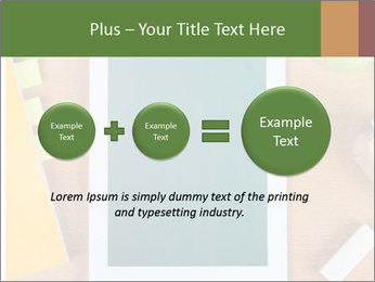 School Tablet PowerPoint Template - Slide 75
