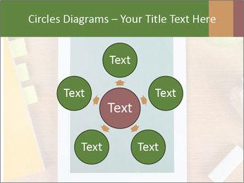 School Tablet PowerPoint Template - Slide 78
