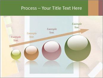 School Tablet PowerPoint Template - Slide 87