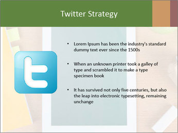 School Tablet PowerPoint Template - Slide 9