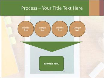 School Tablet PowerPoint Template - Slide 93