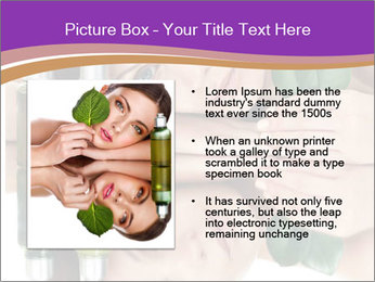 Woman With Cream PowerPoint Templates - Slide 13