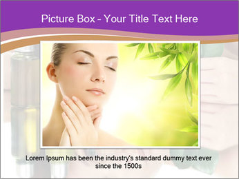 Woman With Cream PowerPoint Templates - Slide 15
