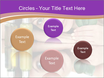 Woman With Cream PowerPoint Templates - Slide 77