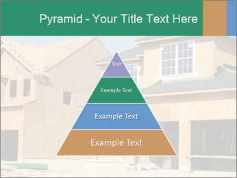 Two beautiful houses made of red brick. PowerPoint Template - Slide 30