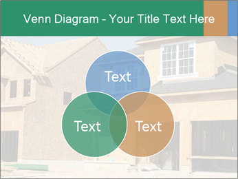 Two beautiful houses made of red brick. PowerPoint Template - Slide 33