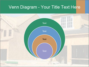 Two beautiful houses made of red brick. PowerPoint Template - Slide 34
