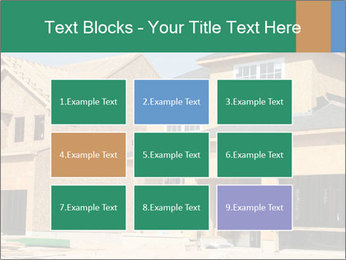 Two beautiful houses made of red brick. PowerPoint Template - Slide 68