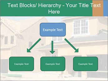 Two beautiful houses made of red brick. PowerPoint Template - Slide 69