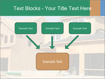 Two beautiful houses made of red brick. PowerPoint Template - Slide 70