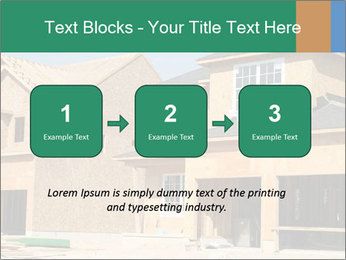 Two beautiful houses made of red brick. PowerPoint Template - Slide 71