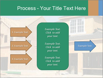 Two beautiful houses made of red brick. PowerPoint Template - Slide 85