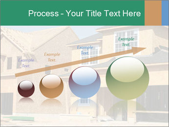 Two beautiful houses made of red brick. PowerPoint Template - Slide 87