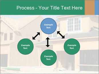 Two beautiful houses made of red brick. PowerPoint Template - Slide 91