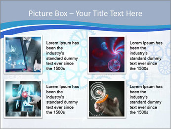 Gear Composition PowerPoint Templates - Slide 14