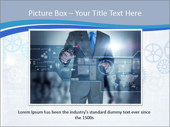 Gear Composition PowerPoint Templates - Slide 15