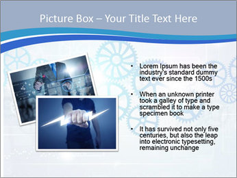 Gear Composition PowerPoint Templates - Slide 20