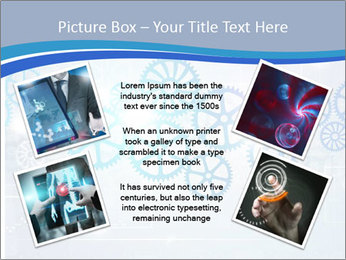 Gear Composition PowerPoint Templates - Slide 24