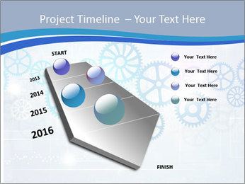 Gear Composition PowerPoint Templates - Slide 26