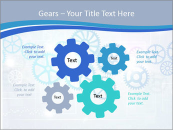 Gear Composition PowerPoint Templates - Slide 47