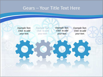 Gear Composition PowerPoint Templates - Slide 48