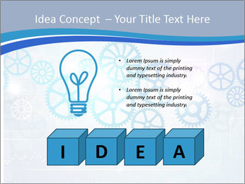 Gear Composition PowerPoint Templates - Slide 80
