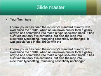 Dunn's River Fall PowerPoint Template - Slide 2