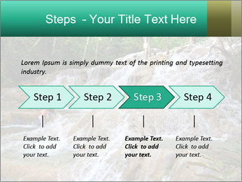 Dunn's River Fall PowerPoint Template - Slide 4