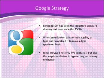 Pink Night Light PowerPoint Template - Slide 10