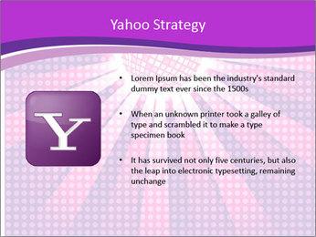 Pink Night Light PowerPoint Template - Slide 11