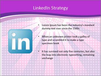 Pink Night Light PowerPoint Template - Slide 12