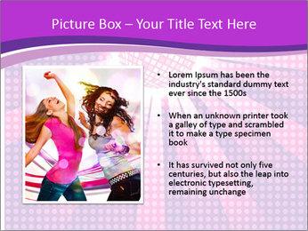 Pink Night Light PowerPoint Template - Slide 13