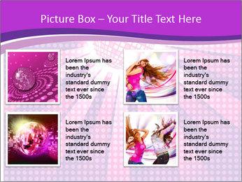 Pink Night Light PowerPoint Template - Slide 14