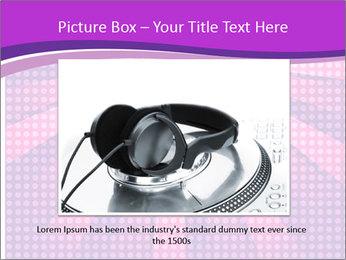 Pink Night Light PowerPoint Template - Slide 15