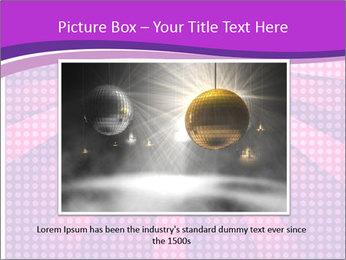 Pink Night Light PowerPoint Template - Slide 16